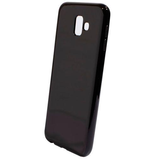 Productafbeelding van de Mobiparts Essential TPU Case Black Samsung Galaxy J6+
