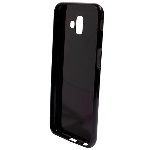 Produktimage des Mobiparts Essential TPU Hülle Schwarz Samsung Galaxy J6+