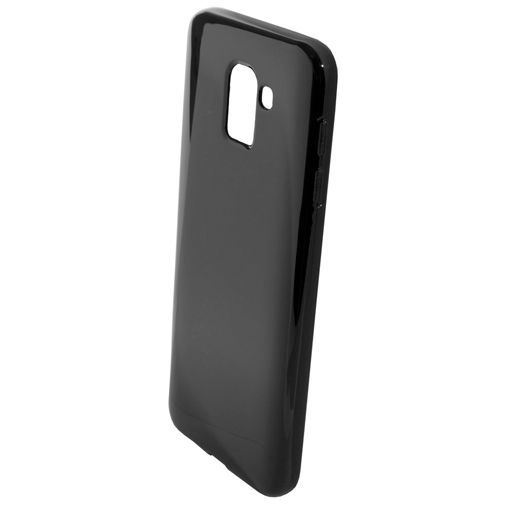 Productafbeelding van de Mobiparts Essential TPU Case Black Samsung Galaxy J6