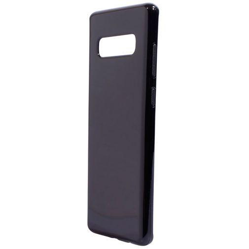 Produktimage des Mobiparts Essential TPU Hülle Schwarz Samsung Galaxy S10+