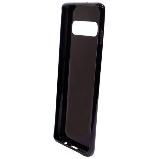 Productafbeelding van de Mobiparts Essential TPU Case Black Samsung Galaxy S10