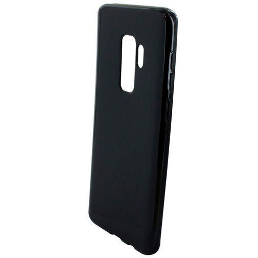 Produktimage des Mobiparts Essential TPU Hülle Schwarz Samsung Galaxy S9+