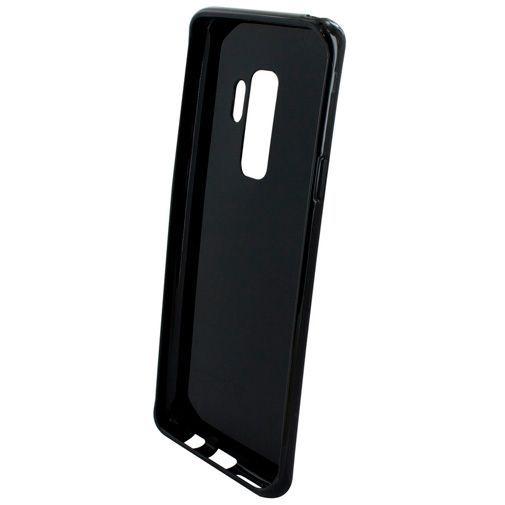 Productafbeelding van de Mobiparts Essential TPU Case Black Samsung Galaxy S9+