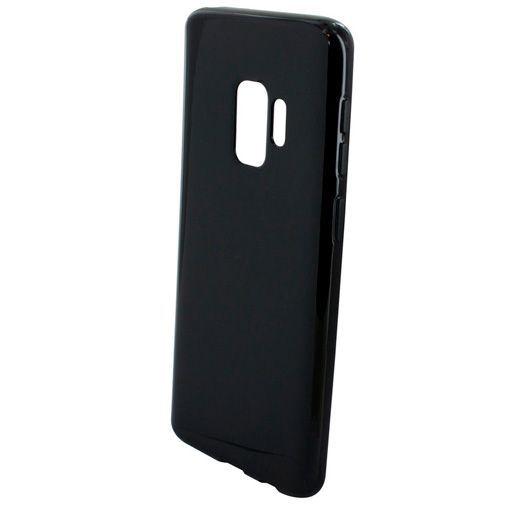 Productafbeelding van de Mobiparts Essential TPU Case Black Samsung Galaxy S9