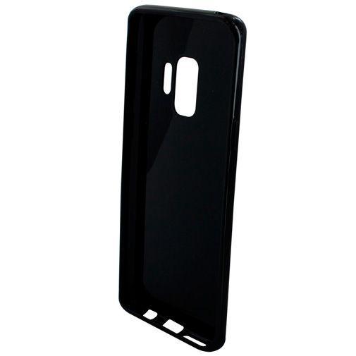Produktimage des Mobiparts Essential TPU Hülle Schwarz Samsung Galaxy S9