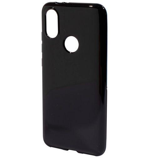 Productafbeelding van de Mobiparts Essential TPU Case Black Xiaomi Mi A2