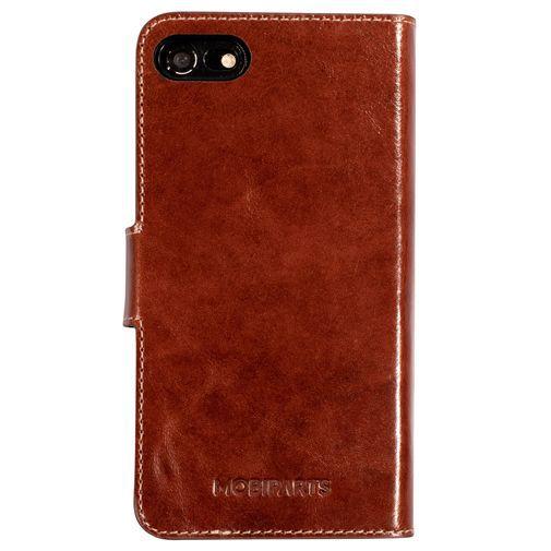 Productafbeelding van de Mobiparts Excellent Wallet Case 2.0 Brown Apple iPhone 7/8/SE 2020