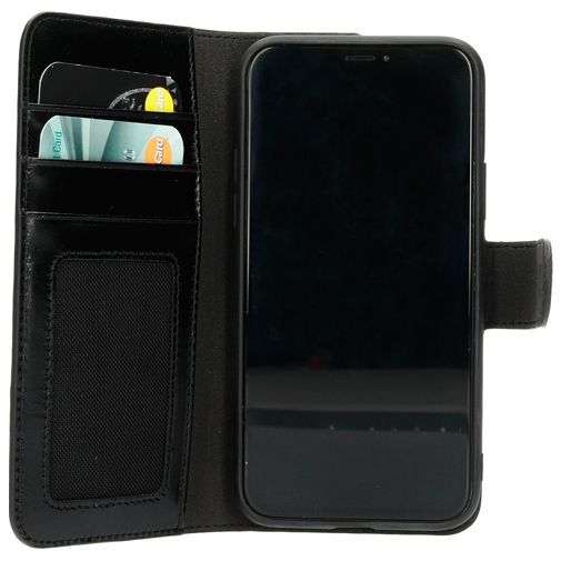 Produktimage des Mobiparts Excellent Wallet Case 2.0 Schwarz Apple iPhone 11 Pro