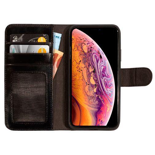Productafbeelding van de Mobiparts Excellent Wallet Case 2.0 Black Apple iPhone X/XS