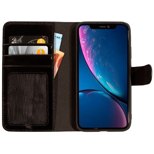 Productafbeelding van de Mobiparts Excellent Wallet Case 2.0 Black Apple iPhone XR