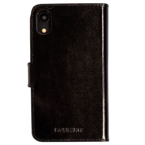 Produktimage des Mobiparts Excellent Wallet Case 2.0 Schwarz Apple iPhone XR
