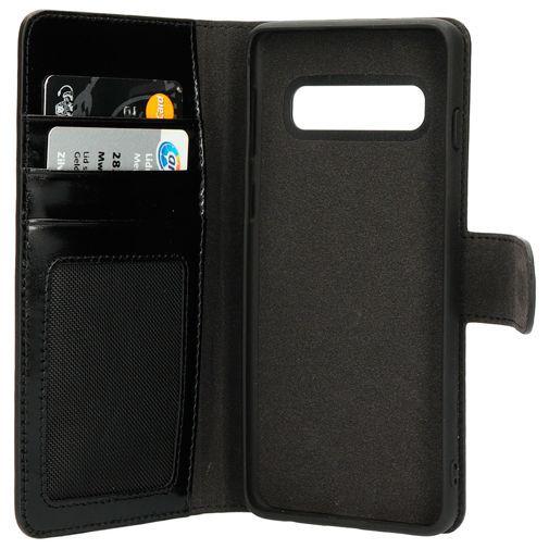 Productafbeelding van de Mobiparts Excellent Wallet Case 2.0 Black Samsung Galaxy S10