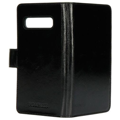 Produktimage des Mobiparts Excellent Wallet Case 2.0 Schwarz Samsung Galaxy S10