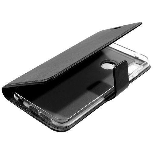 Productafbeelding van de Mobiparts Classic Wallet Case Black Huawei P20 Lite