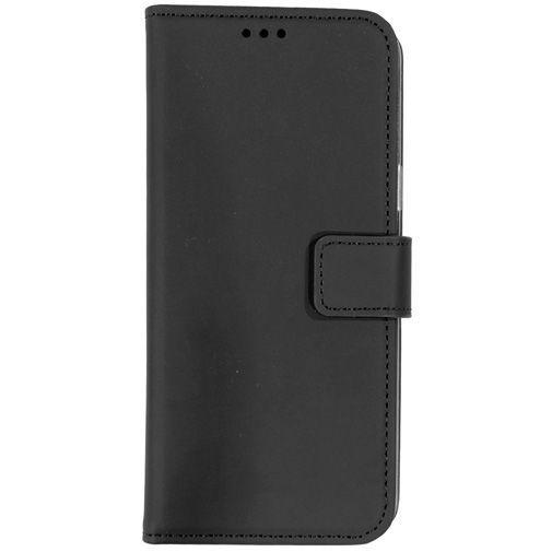 Produktimage des Mobiparts Premium Wallet TPU Case Schwarz Samsung Galaxy S9