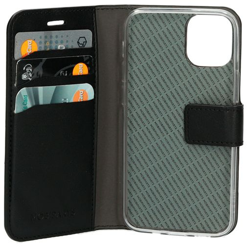 Productafbeelding van de Mobiparts PU-leer Book Case Apple iPhone 12 Mini Zwart