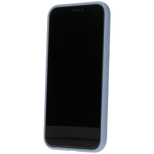 Productafbeelding van de Mobiparts Silicone Cover Grey Apple iPhone 11