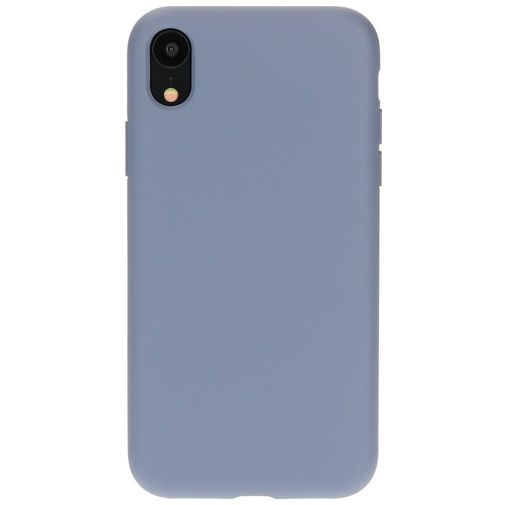 Productafbeelding van de Mobiparts Silicone Cover Grey Apple iPhone XR