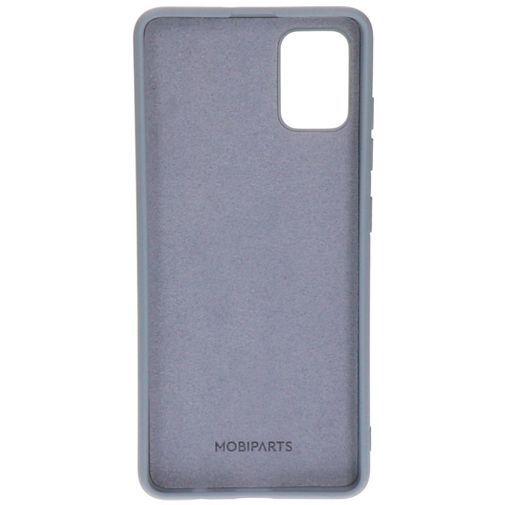 Productafbeelding van de Mobiparts Silicone Cover Grey Samsung Galaxy A51 4G