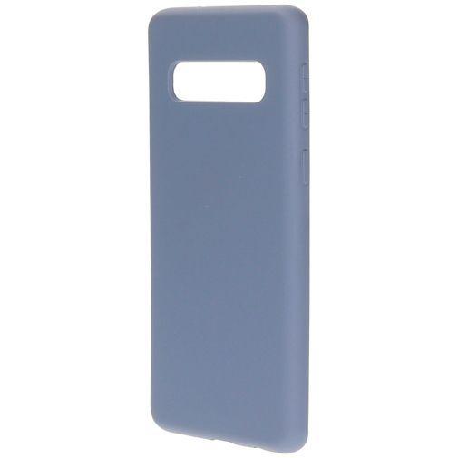 Produktimage des Mobiparts Silikon Case Grau Samsung Galaxy S10 G973