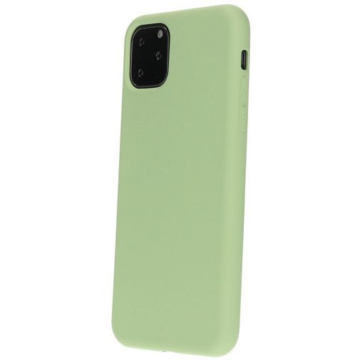 Productafbeelding van de Mobiparts Silicone Cover Green Apple iPhone 11 Pro Max