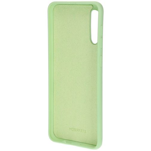 Produktimage des Mobiparts Silikon Case Grün Samsung Galaxy A30s/A50