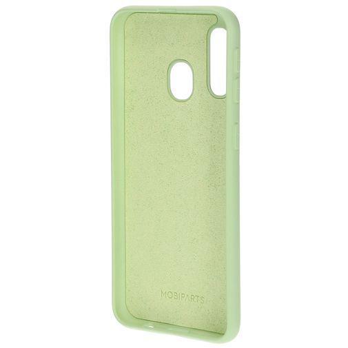 Produktimage des Mobiparts Silikon Case Grün Samsung Galaxy A40