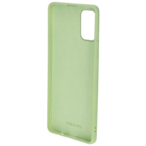 Produktimage des Mobiparts Silikon Case Grün Samsung Galaxy A71