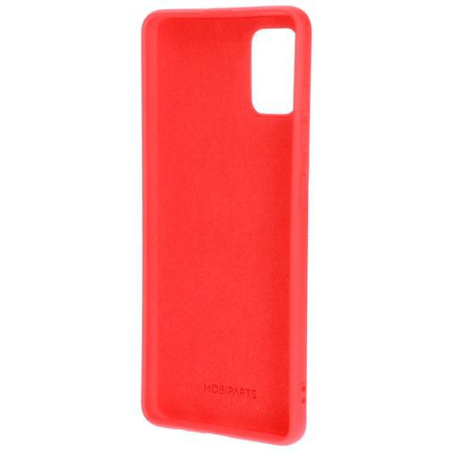 Produktimage des Mobiparts Silikon Case Rot Samsung Galaxy A51 4G