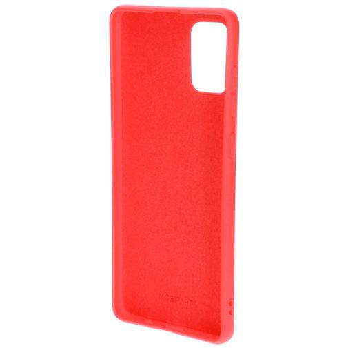 Produktimage des Mobiparts Silikon Case Rot Samsung Galaxy A71