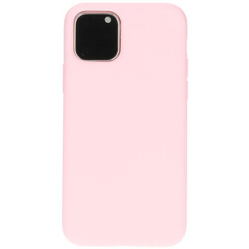 Productafbeelding van de Mobiparts Silicone Cover Pink Apple iPhone 11 Pro
