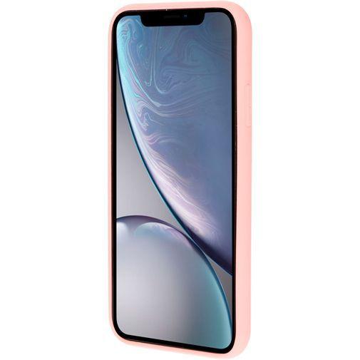 Produktimage des Mobiparts Silikon Case Pink Apple iPhone XR