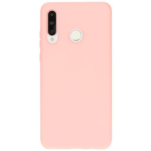 Productafbeelding van de Mobiparts Silicone Cover Pink Huawei P30 Lite/P30 Lite New Edition
