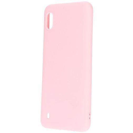 Productafbeelding van de Mobiparts Silicone Cover Pink Samsung Galaxy A10