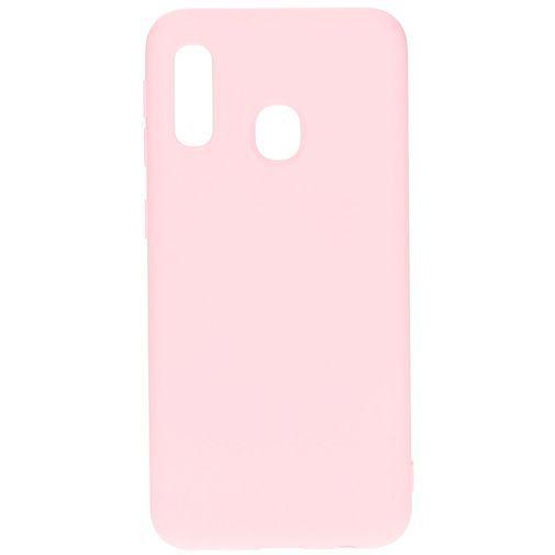 Productafbeelding van de Mobiparts Silicone Cover Pink Samsung Galaxy A20e