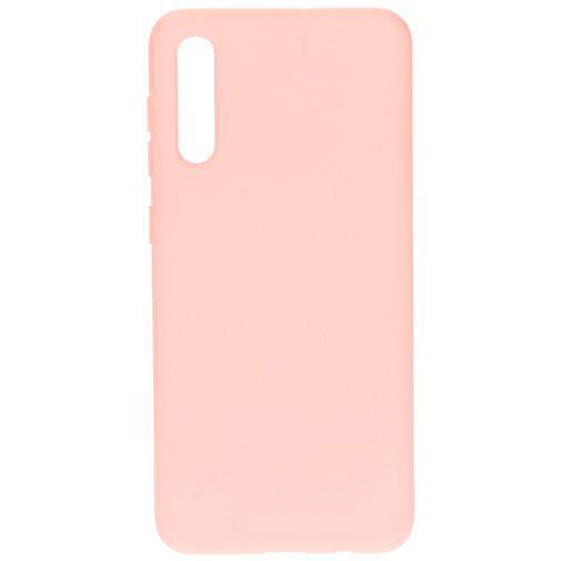 Produktimage des Mobiparts Silikon Case Pink Samsung Galaxy A30s/A50
