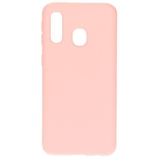 Productafbeelding van de Mobiparts Silicone Cover Pink Samsung Galaxy A40