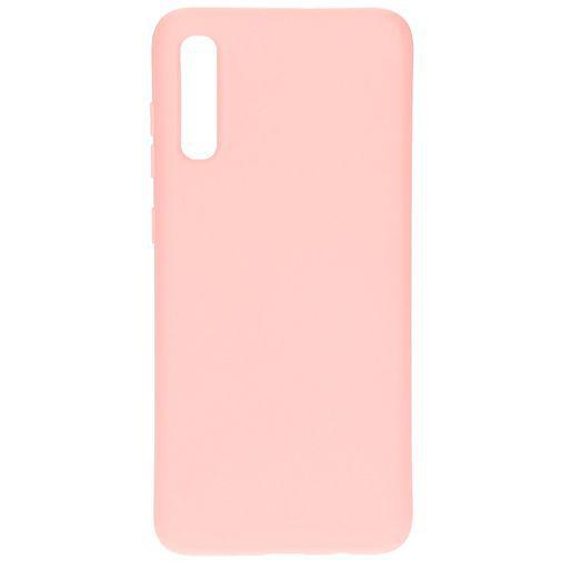 Productafbeelding van de Mobiparts Silicone Cover Pink Samsung Galaxy A70