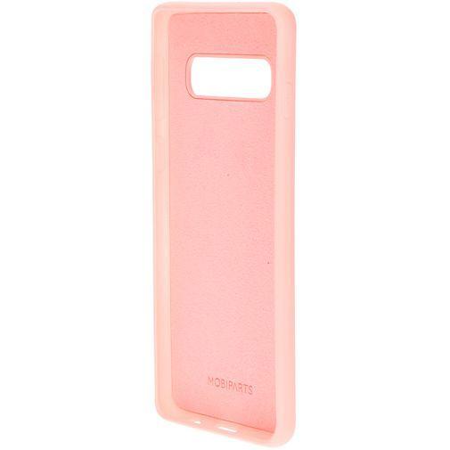 Productafbeelding van de Mobiparts Silicone Cover Pink Samsung Galaxy S10