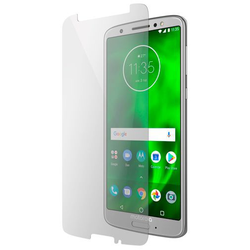 Productafbeelding van de Mobiparts Tempered Glass Screenprotector Motorola Moto G6