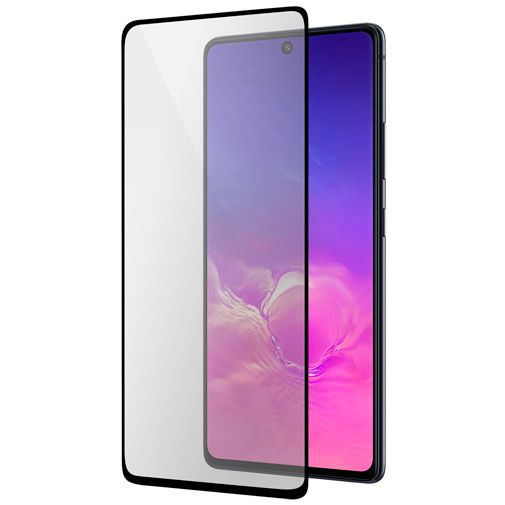 Productafbeelding van de Mobiparts Tempered Glass Screenprotector Samsung Galaxy S10 Lite