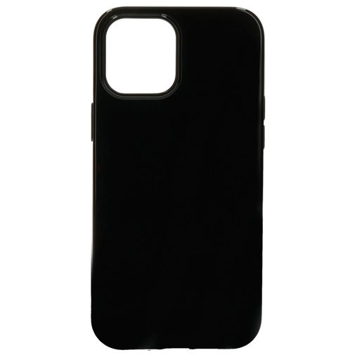 Productafbeelding van de Mobiparts TPU Backcover Apple iPhone 12 Pro Max Zwart