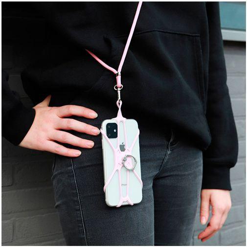Productafbeelding van de Mobiparts Universele Phonestrap Pink