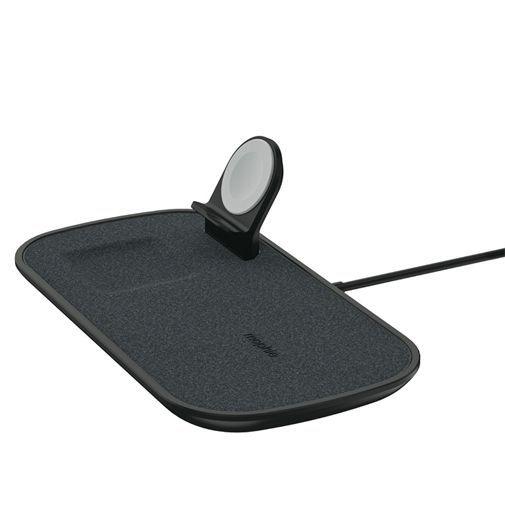 Productafbeelding van de Mophie 3-in-1 Draadloze Snellader 7,5W Fabric Black