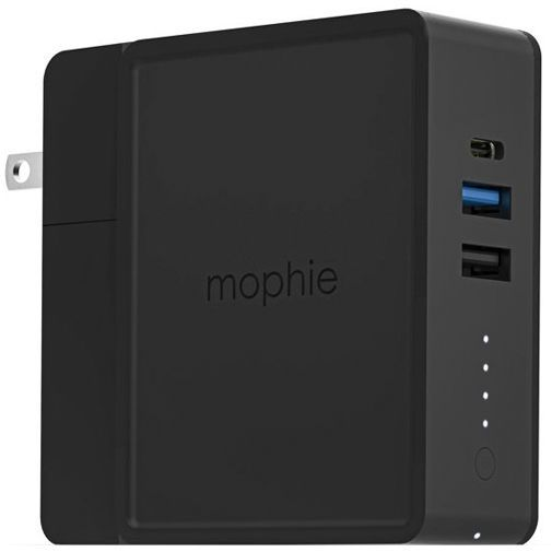 Productafbeelding van de Mophie Powerstation Hub Powerbank 6.000mAh Black
