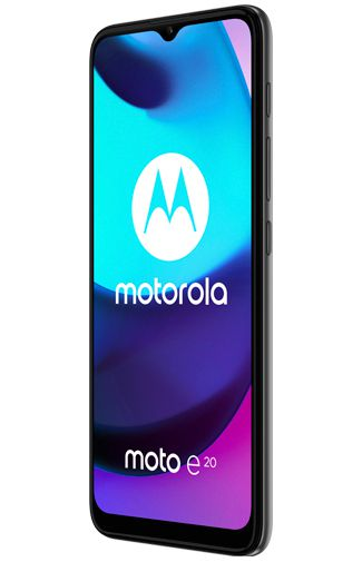 Product image of the Motorola Moto e20 Grey