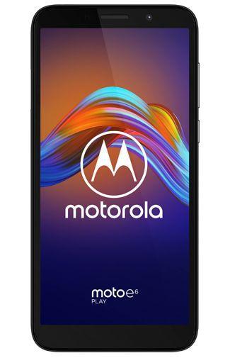 Productafbeelding van de Motorola Moto E6 Play Black