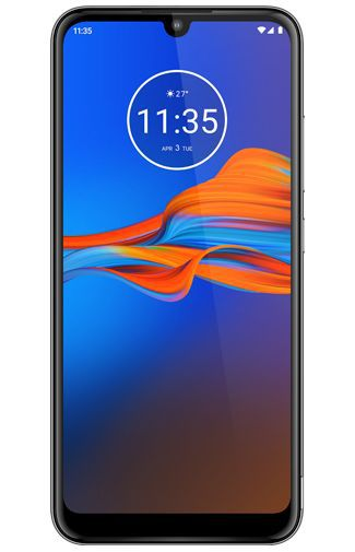 Productafbeelding van de Motorola Moto E6 Plus 64GB Grey