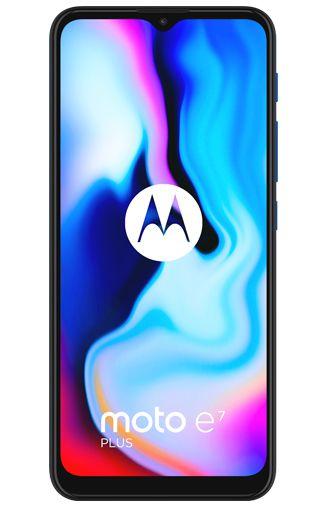 Produktimage des Motorola Moto E7 Plus Blau