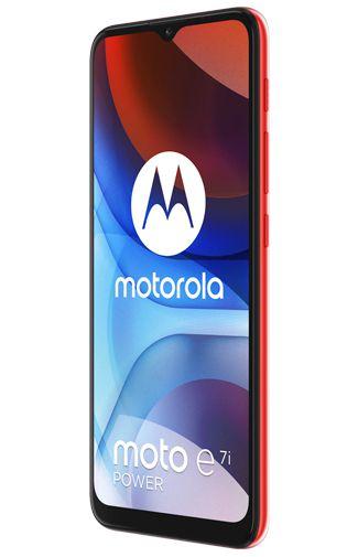 Productafbeelding van de Motorola Moto E7i Power Rood